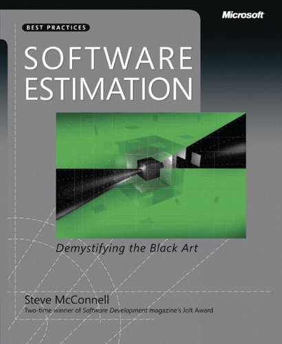Software Estimation: Desmystifying the Black Art.
